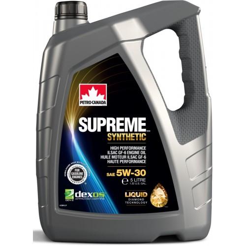 PETRO CANADA SUPREME SYNTHETIC 5W30 4L