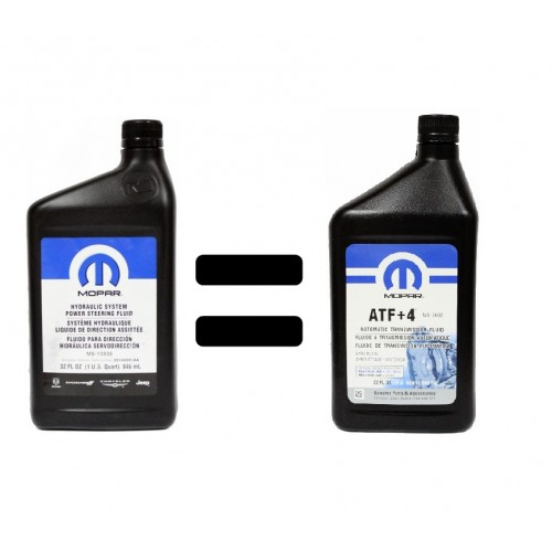 MOPAR HYDRAULIC POWER STEERING FLUID MS-10838 1L