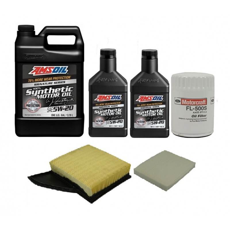 AMSOIL 5W20  + FILTRY FORD MUSTANG 3,7 11-14