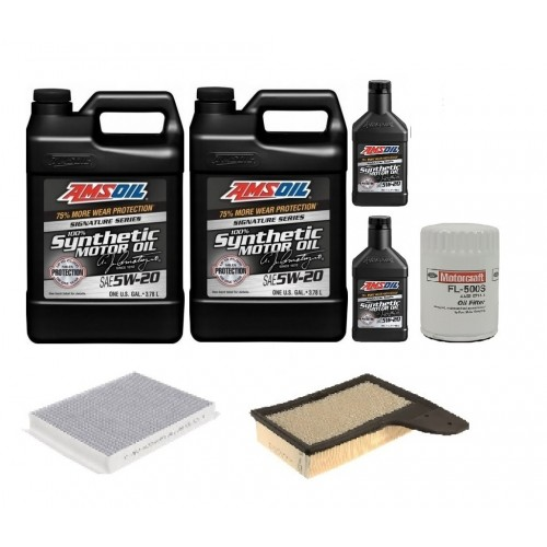 AMSOIL 5W20 + FILTRY FORD MUSTANG 5,0 18-20