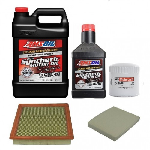 AMSOIL 5W30  + FILTRY FORD MUSTANG 4,0 05-10