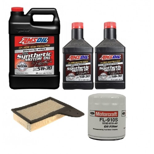 AMSOIL 5W30 + FILTRY FORD MUSTANG 2,3 15-20