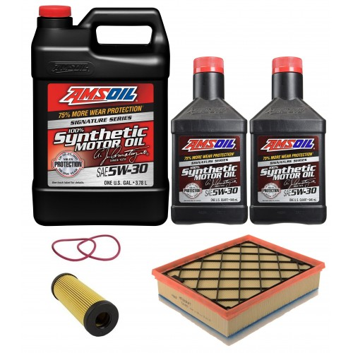 MOTORCRAFT 5W30 FULL SYNTHETIC 6L + FILTRY FORD EDGE 2,7 15-20