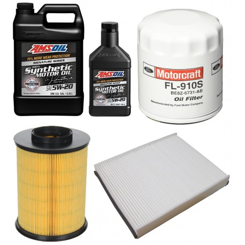 MOTORCRAFT 5W20 FULL SYNTHETIC 5L + FILTRY FORD ESCAPE 1,5 17-19