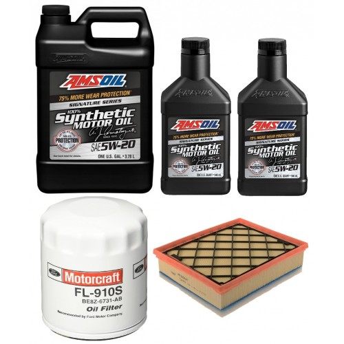 AMSOIL 5W20 ALM 5,67L + FILTRY FORD FUSION 2,5 13-20