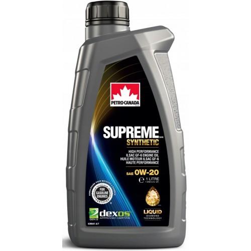 PETRO CANADA SUPREME SYNTHETIC 0W20 1L