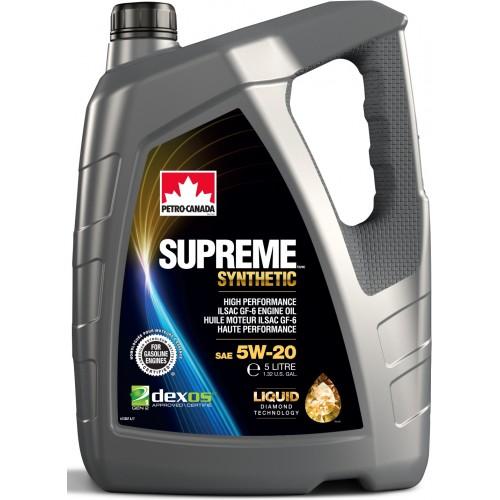 PETRO CANADA SUPREME SYNTHETIC 5W20 1L