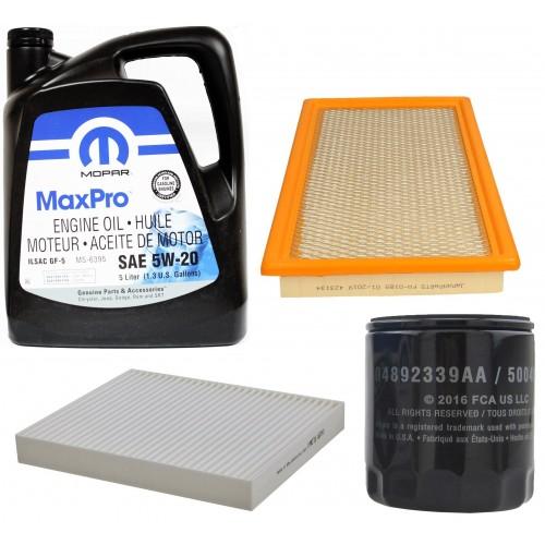 MOPAR 5W20 5L+ FILTRY JEEP COMPASS 2,0/2,4 07-10