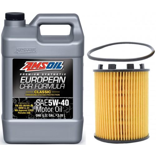 AMSOIL 5W40 EFM 4L + FILTR DODGE DART 1,4 13-16