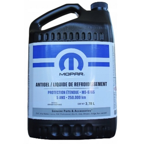 MOPAR COOLANT CONCENTRATE 5 YEARS 4L