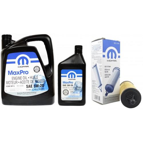 MOPAR 5W20 6L + MO-349