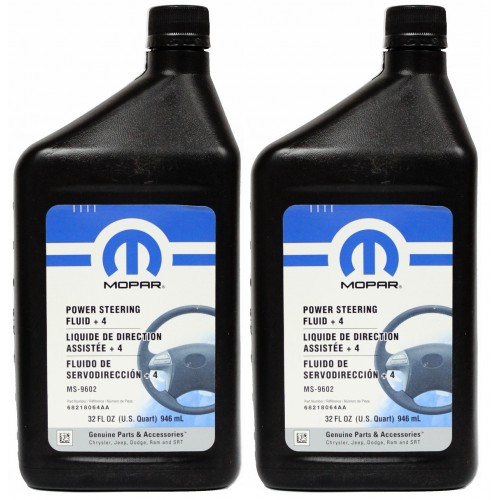MOPAR POWER STERRING FLUID + 4 2L