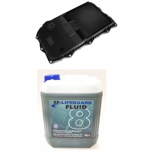 ZF LIFEGUARD FLUID 8 10L + OIL PAN ZF 8HP45 / 8HP70 (DEEP)