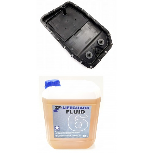 ZF LIFEGUARD FLUID 6 10L + OIL PAN ZF 6HP26/6HP28/6HP32/6HP34