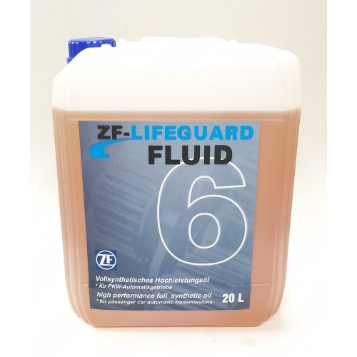 ZF LIFEGUARD FLUID 6 20L 6HP26/6HP28/6HP32/6HP34