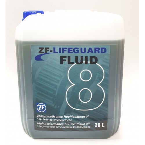 ZF LIFEGUARD FLUID 8 20L 8HP45/8HP70