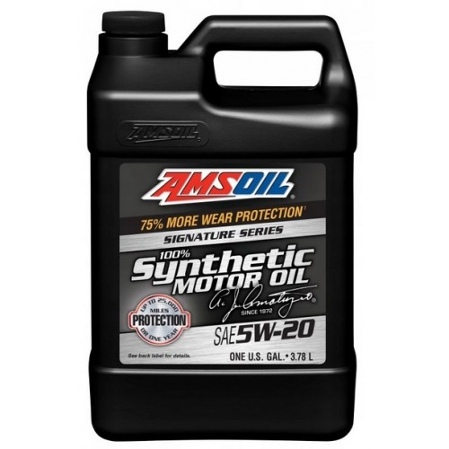 AMSOIL Signature Series Synthetic Motor Oil 5W20 3.8L