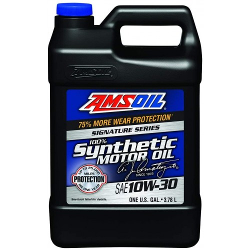 AMSOIL Signature Series Synthetic Motor Oil 10W30 3.78L