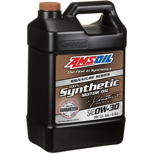 AMSOIL Signature Series Synthetic Motor Oil 0W30 3.78L