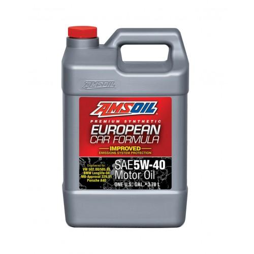 AMSOIL EUROPEAN CAR FORMULA IMPROVED ESP SYNTHETIC MOTOR OIL 5W40 3,78L