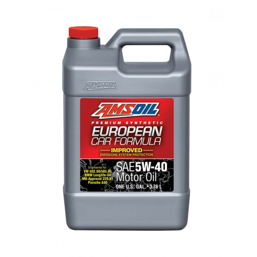 AMSOIL EUROPEAN CAR FORMULA IMPROVED ESP SYNTHETIC MOTOR OIL 5W40 3,78L