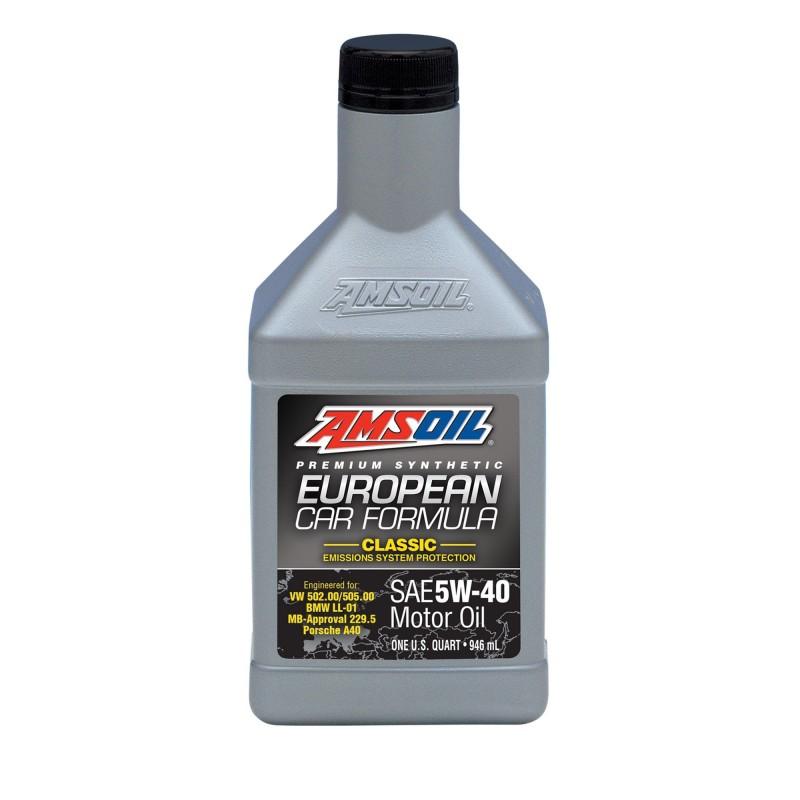 AMSOIL EUROPEAN CAR FORMULA CLASSIC ESP SYNTHETIC MOTOR OIL 5W40 0,946L