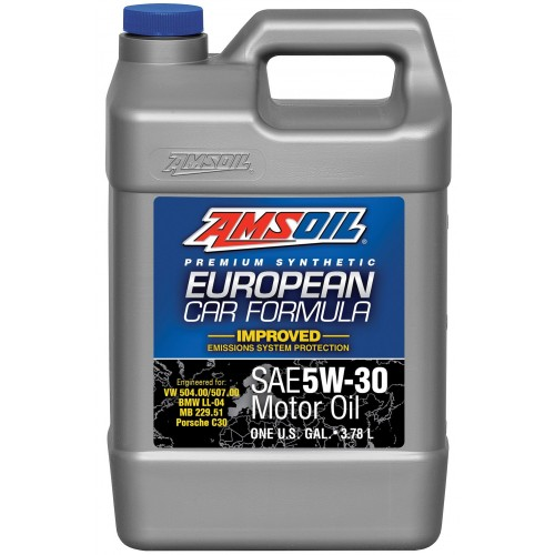 AMSOIL EUROPEAN CAR FORMULA IMPROVED ESP SYNTHETIC MOTOR OIL 5W30 3,78L