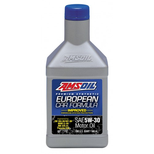 AMSOIL EUROPEAN CAR FORMULA IMPROVED ESP SYNTHETIC MOTOR OIL 5W30 0,946L