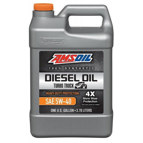 AMSOIL Signature Series Max-Duty Synthetic Diesel Oil 5W40 3,8L