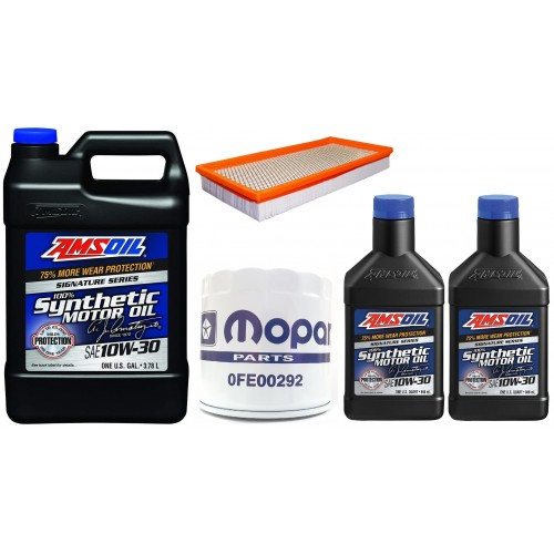 AMSOIL 10W30 ATM 4,73L + FILTRY JEEP CHEROKEE 2,5 1994-2000