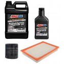 AMSOIL 5W20 ALM 4,73L + FILTRY JEEP GRAND CHEROKEE 3,7 09-10