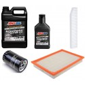 AMSOIL 5W30 ASL 4,73L + FILTRY JEEP GRAND CHEROKEE 3,7 2005-2006