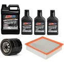 AMSOIL 5W20 ALM 6,6L +FILTRY JEEP GRAND CHEROKEE 5,7 11-13